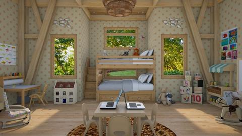 Design 409 Bunk Beds for Little Kids - Kids room - by Daisy320