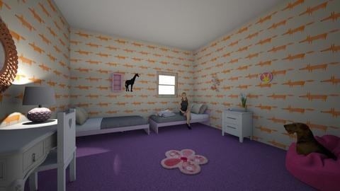 plurple - Modern - Kids room  - by lex faye