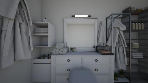 fitting room - Modern - Bathroom  - by sophiell