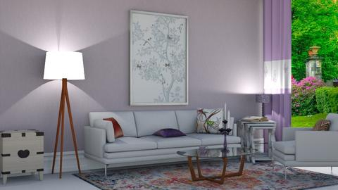 Orionaute  - Living room  - by nat mi