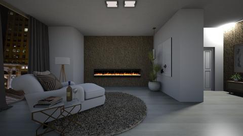 Minimal - Living room  - by rosanebpf