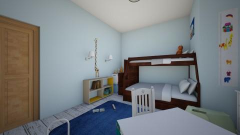 Boys Room - Modern - Kids room  - by tswiz