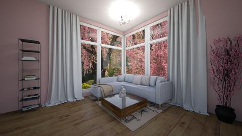 Cherry Room - Living room  - by JaelynW