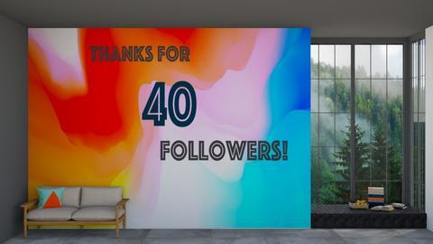 Thanks for 40 Followers - by Yudum Kutlu