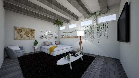 super sweet super swag  - Living room  - by alomireles