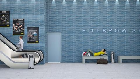 HillbrowStation - by Johannes Burg