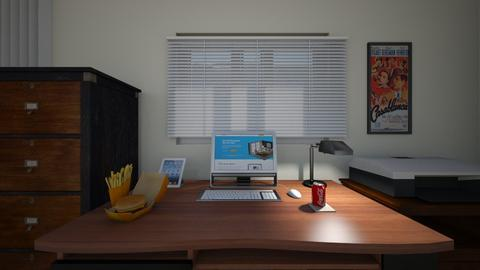 Hollywood Home Workspace - Office  - by mspence03