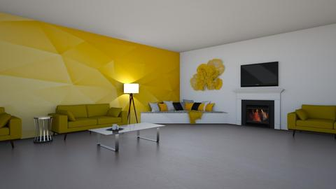 yellow lounge - by rhod365