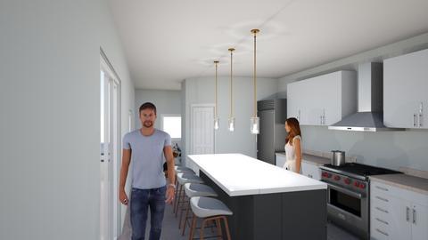 3584 - Masculine - Kitchen - by copandcompany
