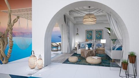 sala grega - Living room  - by soralobo