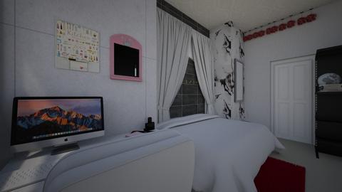 Morden nightime bedroom - Modern - Bedroom  - by Half l left hand l Right
