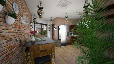 Tatar house 1 Kitchen - Kitchen  - by Slava33