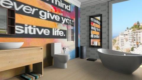PH bathroom - Modern - Bathroom  - by Nhezi