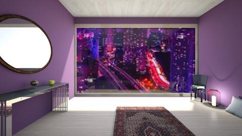 purple - Country - by RODRIO    AGUILERA