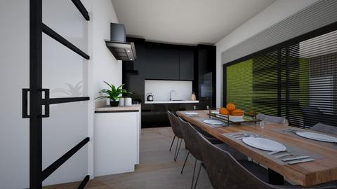 dining room part 2 - Dining room  - by Claradanixx