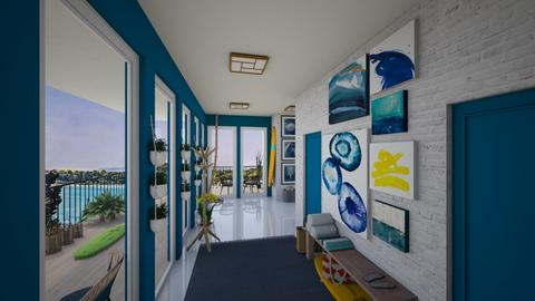 Surf culture Hallway - by SophieFrog