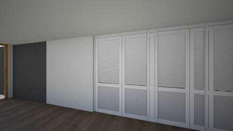 Departamento - Bedroom  - by Grethel_MR