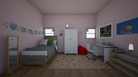 evas room - Feminine - Kids room  - by MomoBeag