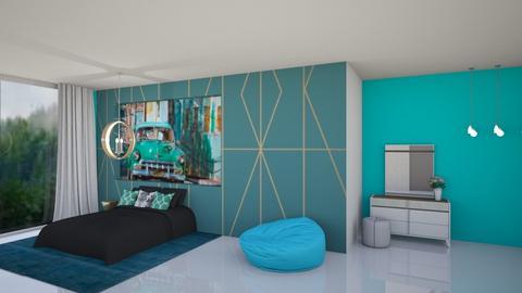 bedroom - by nihalruttala