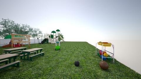 Outdoor area - Garden - by kaycabchildproject