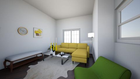tessa pineapple - Living room  - by MissKelly