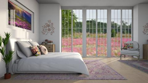 Field of Flowers - Modern - Bedroom  - by millerfam