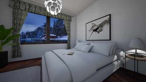 Swedish winter - Country - Bedroom  - by Twerka