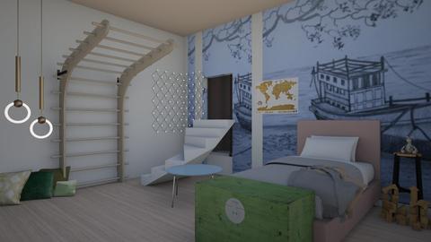 Kids Ocean Room - Kids room  - by Ashley_Daigle