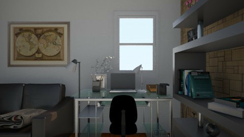 Escritorio_PM - Glamour - Office  - by mjalves