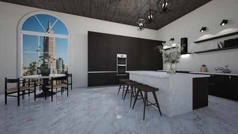 modern kitchen - by erladisgudmunds