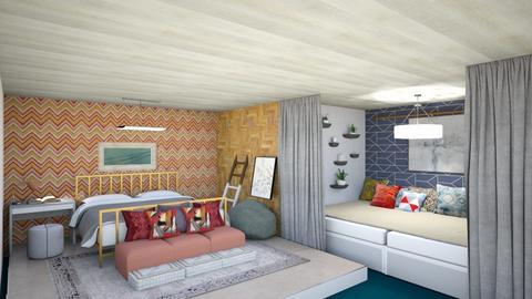 Bedroom - Bedroom - by gefenkl