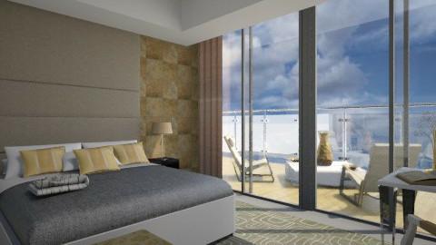 King Bedroom - Rustic - Bedroom  - by iglitola