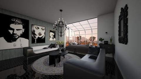 Luxe Des - Living room  - by emivim