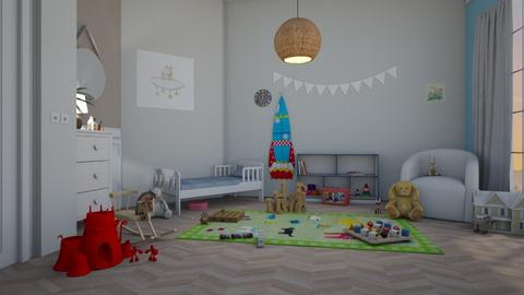 Preschool gender neutral  - Kids room  - by KatieOfTheCats