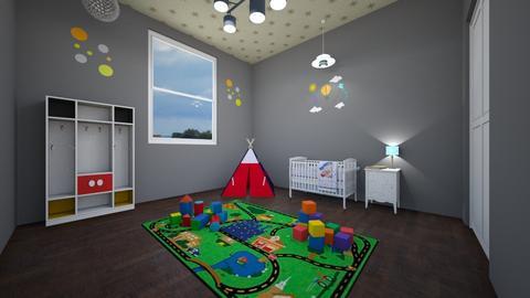 a little boy - Kids room - by areejkwaik