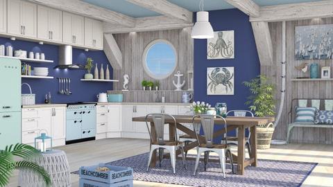 Nautical Kitchen - Kitchen  - by LB1981