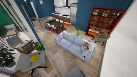 living room from tv - Living room  - by condo1234