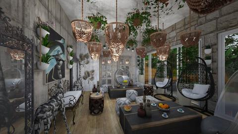 Cafe_Corner_Jungle s_Nature_Design - Country - Living room  - by Nikos Tsokos