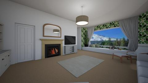 snugbasicpractial - Living room  - by deandesigns