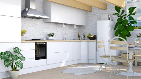 Scandi Kitchen - Modern - Kitchen  - by millerfam