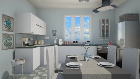 New kitchen - Modern - Kitchen  - by milyca8