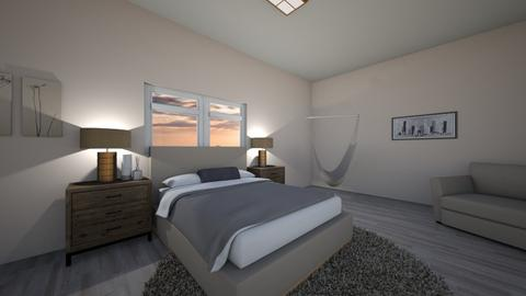 Sunset Neutral Bedroom  - Modern - Bedroom  - by GraceFilledInteriors