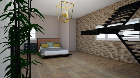 interior bedroom - Bedroom  - by niccipallada