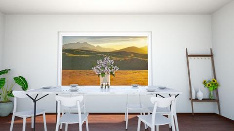dining with family - by IESdesign