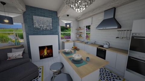 Nautical Kitchen - Kitchen - by PenAndPaper