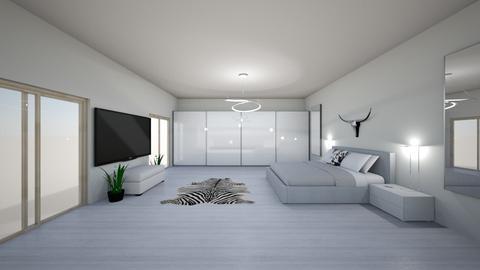 bedroom with bathroom - Bedroom - by eriknochta