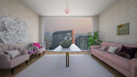 pink suite - Living room  - by zschmitt