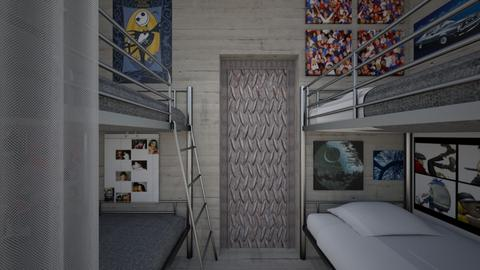 Doomsday Bunker Bedroom 2 - Bedroom  - by SammyJPili