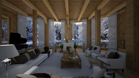 potverdikke - Country - Living room  - by Nick Burckhard