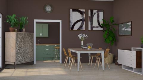 Dining Corner - Dining room  - by Vae Riley